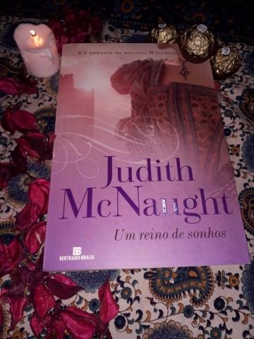 resenha, um reino de sonhos, judith mc naught, livros, beleza de livros