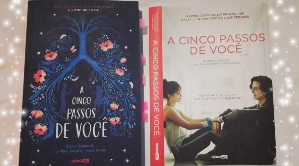 beleza de livros, a cinco passos de você, filme, livro, eu amo ler, livros, romance, fibrose cística, filme, indicação literária