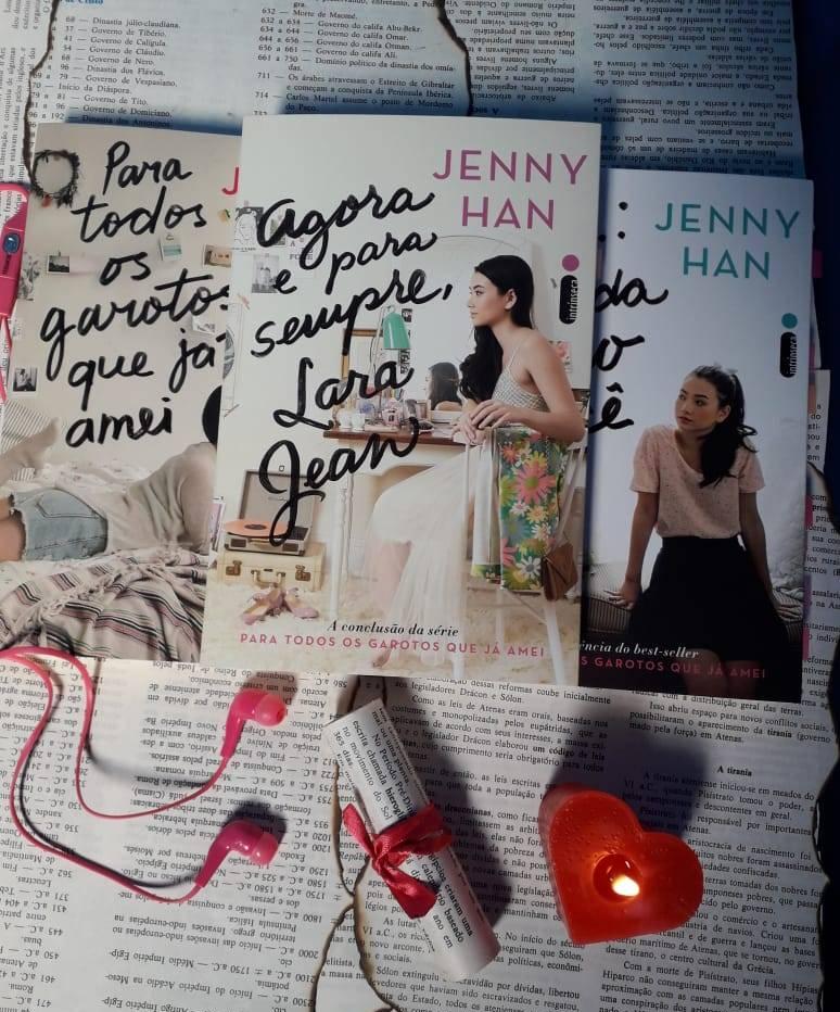 agora e para sempre, lara jean livros, eu amo ler, beleza de livros, blog, resenha, indicações de livros, trilogia