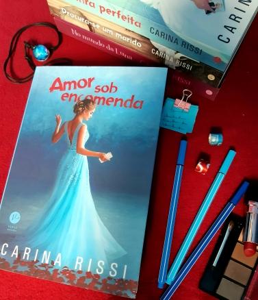 amor sob encomenda, carina rissi, beleza de livros, resenha