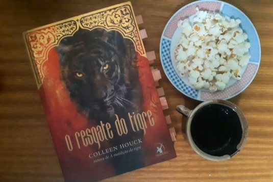 O Resgate do Tigre, Collen Houck, Romance, Livro Collen Houck, Beleza de Livros