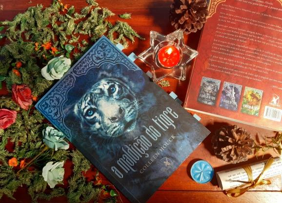 Livro A maldição do Tigre, Beleza de Livros, Resenha, Romance, Eu amo ler, Livros, Colleen Houck, Magia, Editora Arqueiro