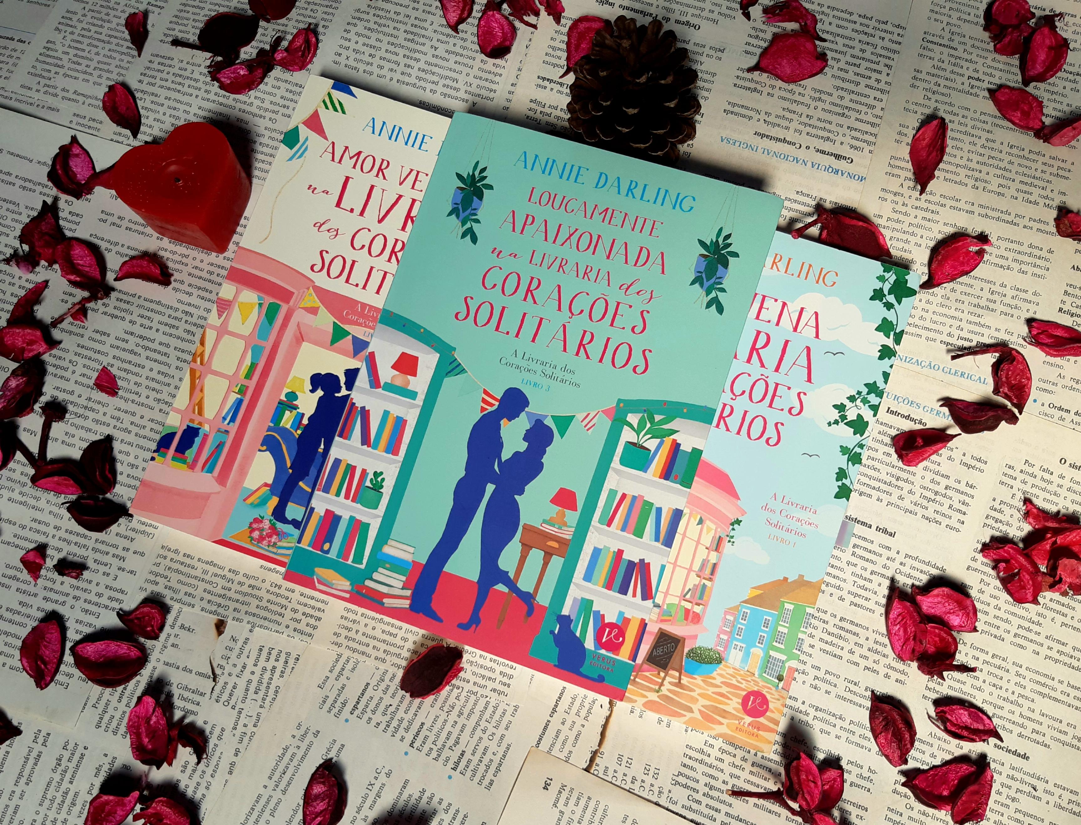 Loucamente apaixonada na livraria dos corações solitários, Romance, Livro, Beleza de Livros, Annie Darling, Editora Verus, Romance, Livros, A livraria dos corações solitários, belezadelivros, blog, belezadelivros.com
