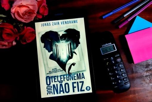 O telefone que não fiz, Beleza de Livros, Jonas Zair Vendrame, Eu amo ler, belezadelivros.com, Livros, Editora Skull
